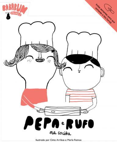 Pepa e Rufo na cociña
