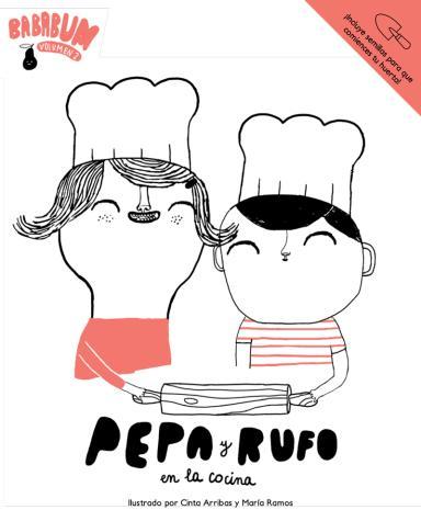 Pepa y Rufo en la cocina