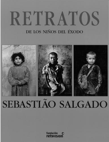 Retratos de los niños del éxodo